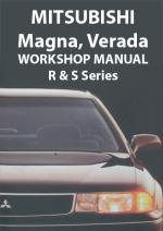 Mitsubishi Magna/Verada Workshop Manual